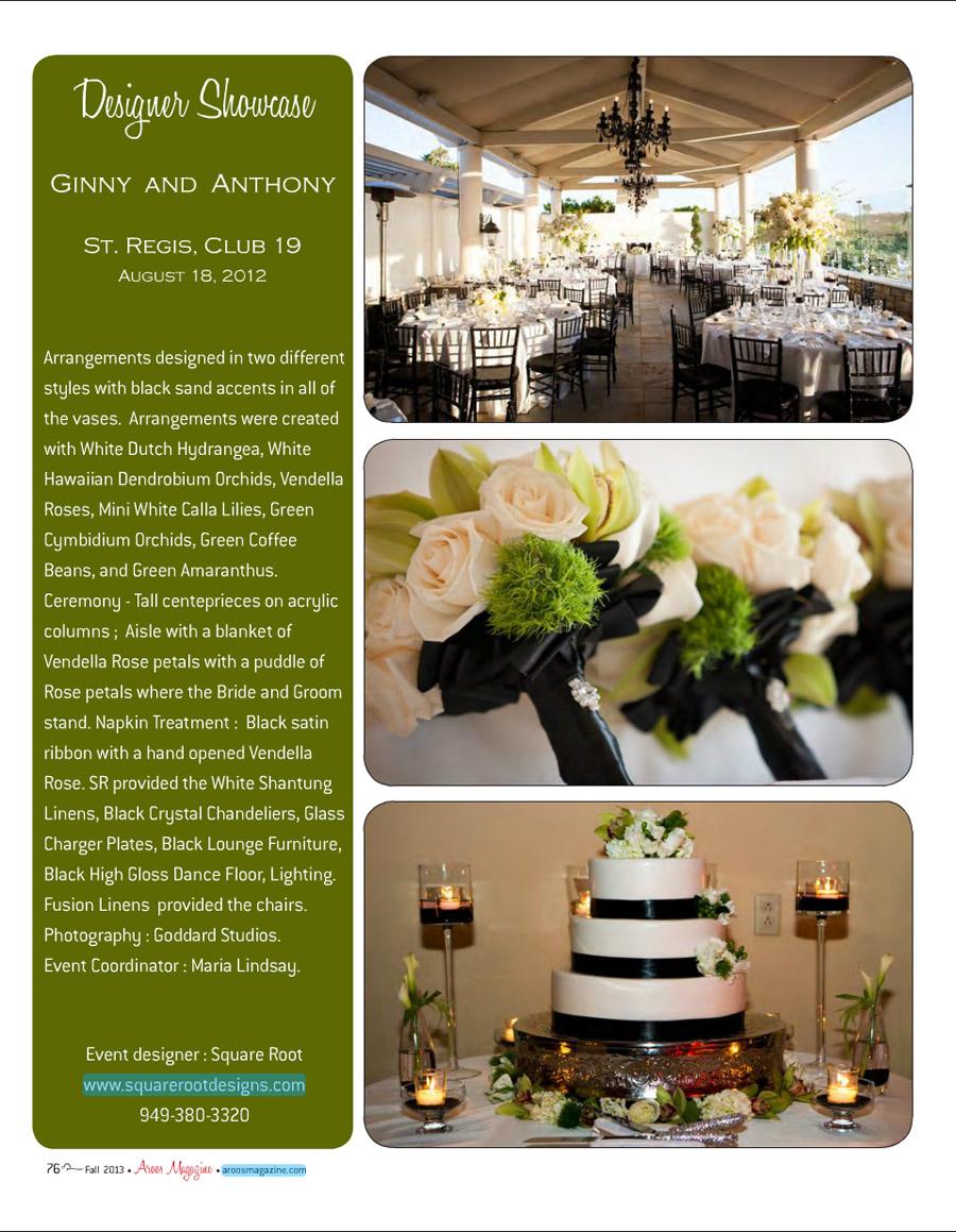 Aroos Magazine St. Regis wedding 01